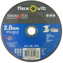 Speedoflex vágókorong 180 x 2,0 x 22,2 fém-inox