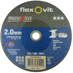 Speedoflex vágókorong 230 x 2,0 x 22,2 fém-inox