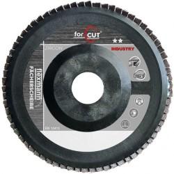 For Cut Industry dupla lamellás csiszoló mûanyag hordozóval 125x22 Z60 egyenes