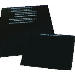 Védőüveg DIN 9 90X110MM