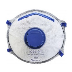 P203 FFP2 szelepes Dolomit légzésvédő maszk (1db)