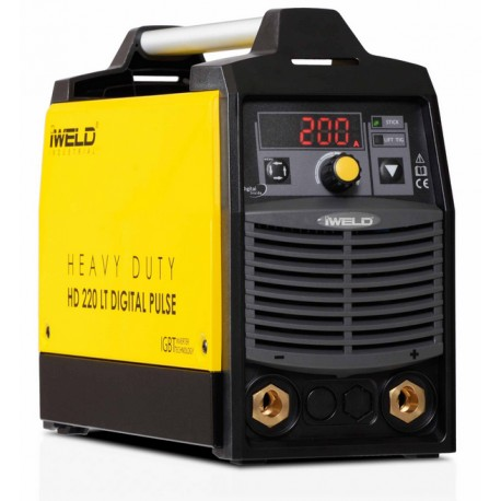 IWELD HD 220 LT DIGITAL PULSE Hegesztő inverter