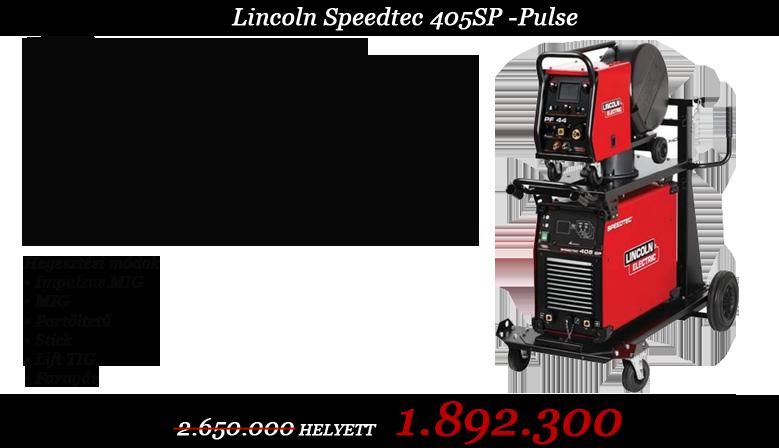 Lincoln speedtec 405SP-/PF46/